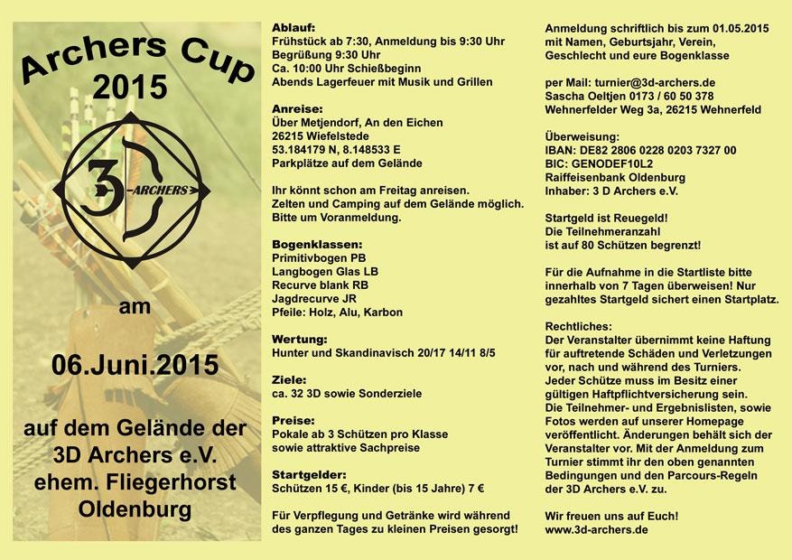 Archers Cup / 3D-Archers @ 3D-Archers | Wiefelstede | Niedersachsen | Deutschland